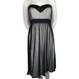 White House Black Market Strapless Dress Size 4